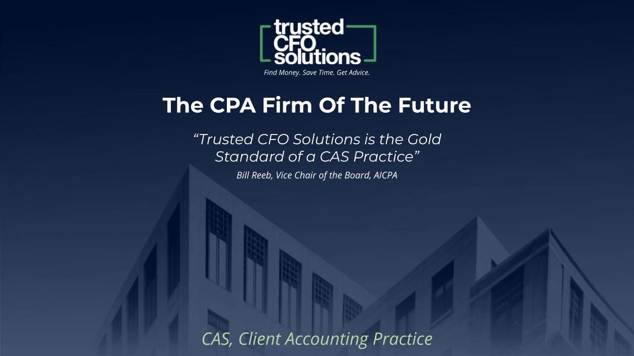 The CPA Firm Of The Future