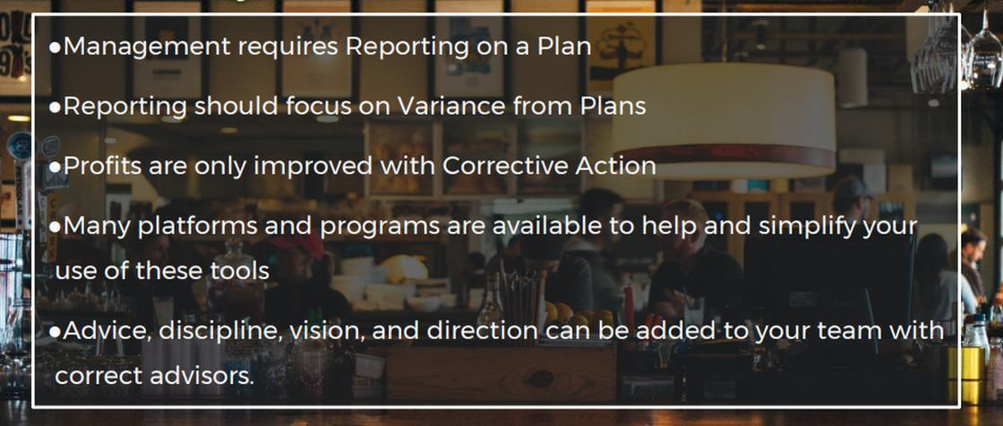 Reporting & Plan Conclusions