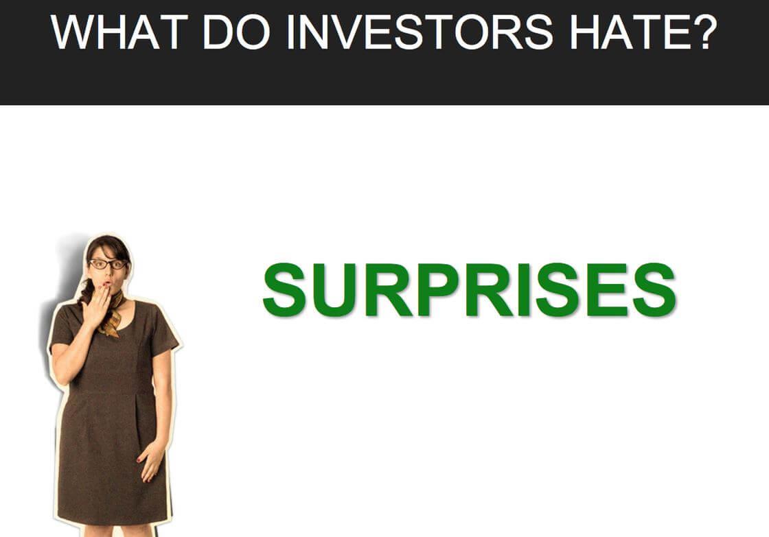 Business Suprises