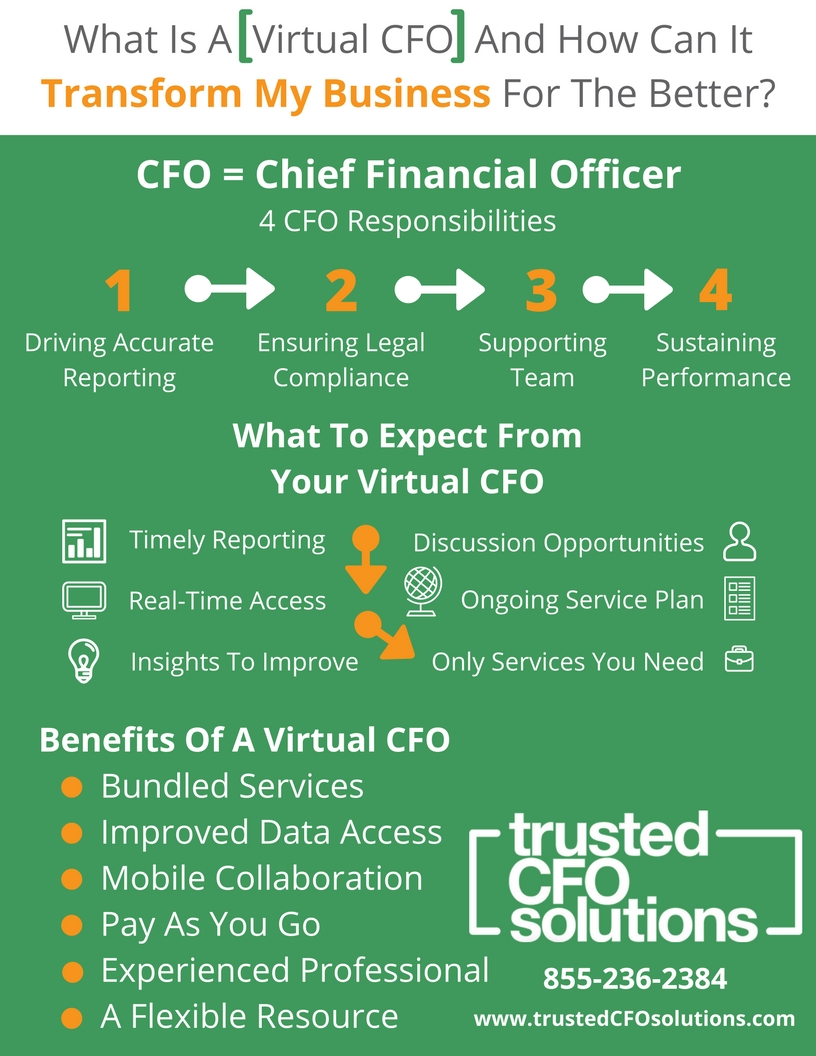 What Is A Virtual CFO & How Can It Transform My Business For The Better Infographic